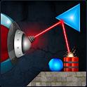 Laserbreak Lite Physics Puzzle icon