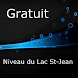 Niveau du Lac St-Jean Gratuit