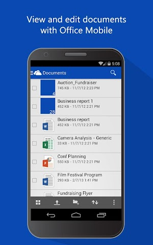 android OneDrive Screenshot 5