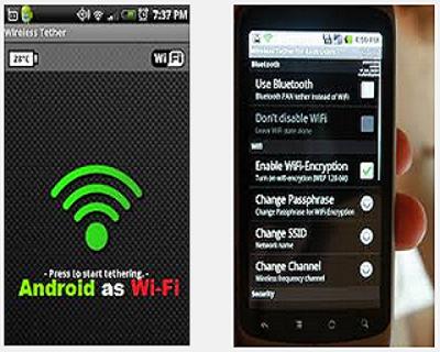 Make wifi hotspot