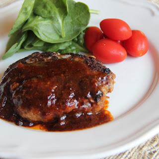 Hamburger Steak.