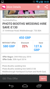 Wedding Voucher Codes screenshot 3