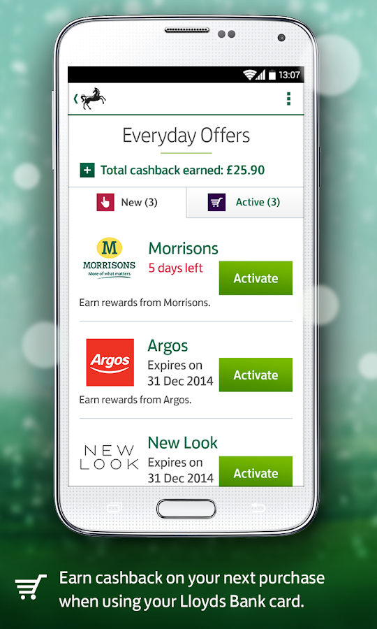 Shell Credit Card Payments >> Lloyds Bank Mobile Banking - Android Apps on Google Play