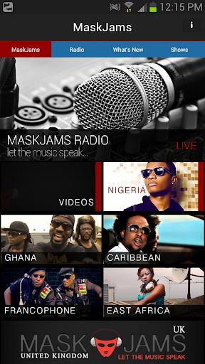 MaskJams - Free African Radio