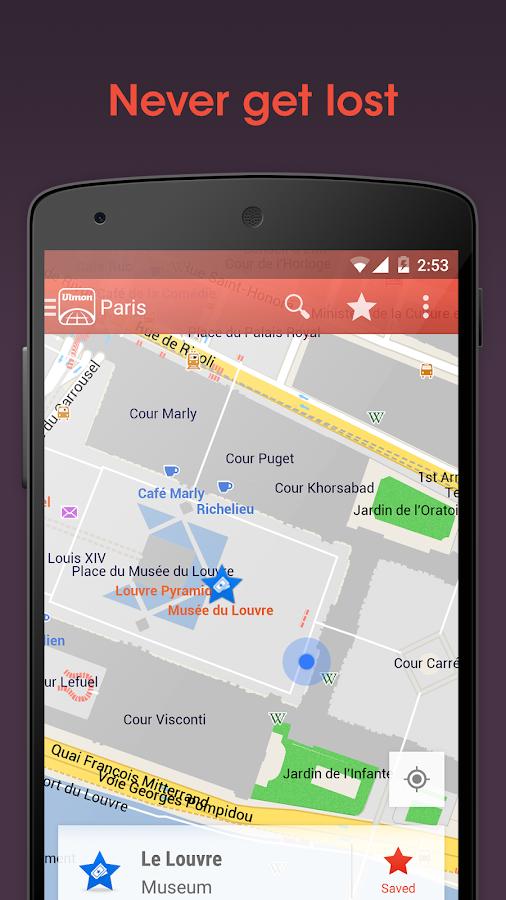 City Maps 2Go Pro Offline Maps - screenshot