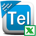 Call History To Excel icon