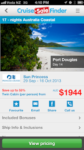 Cruise Sale Finder- screenshot thumbnail