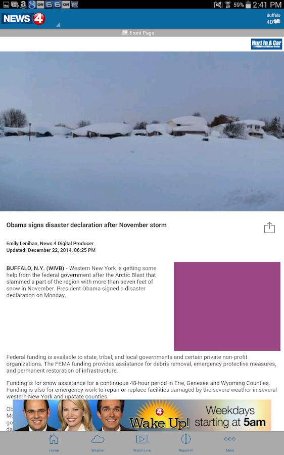 WIVB News 4 - screenshot