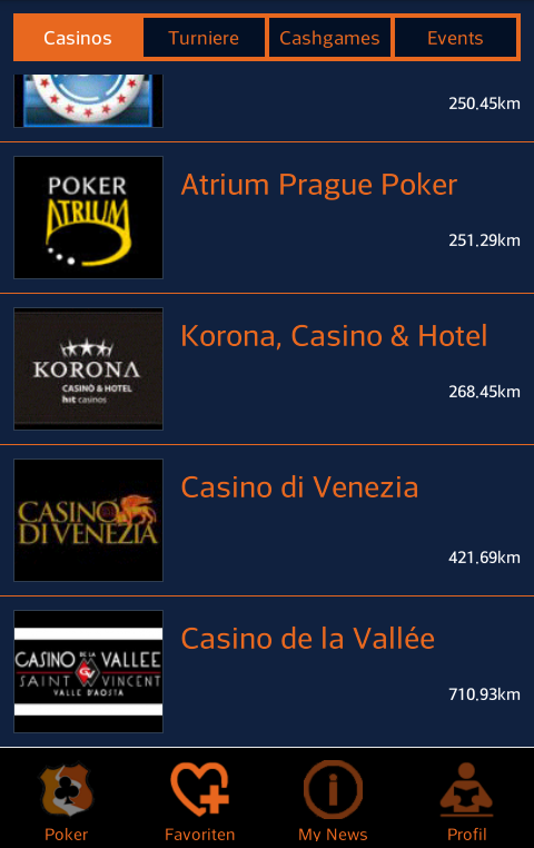 PokerRouter- screenshot