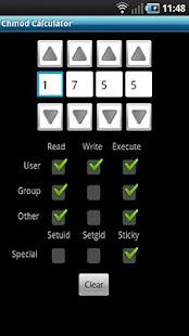 Chmod Calculator- screenshot thumbnail