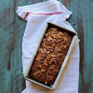 Pumpkin Bread with Walnuts.