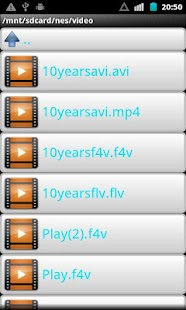 FLV F4V Video Player - screenshot thumbnail