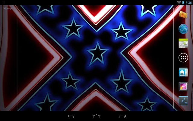 Rebel Flag Wave Live Wallpaper - screenshot