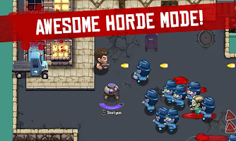 Screenshot of Age of Zombies