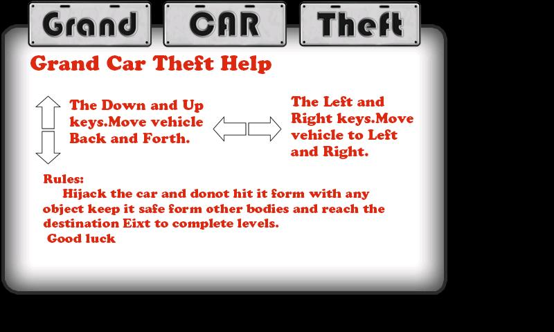 Grand Car Theft Free - screenshot