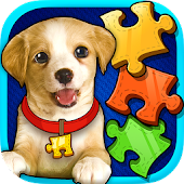 Kids Puzzles: Puppy Jigsaw