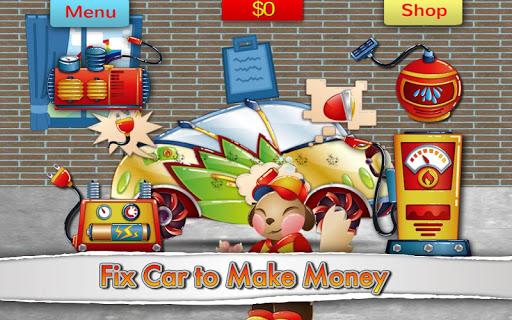 QCat - garage 車庫修車遊戲(免費)