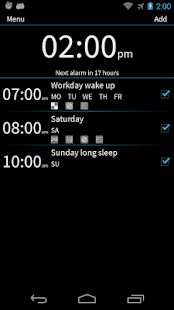 I Can't Wake Up! Alarm Clock Screenshot