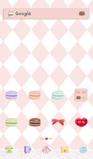 sweet macaron dodol theme