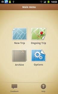 Trip Journal- screenshot thumbnail