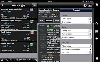 Screenshot of AeroWeather