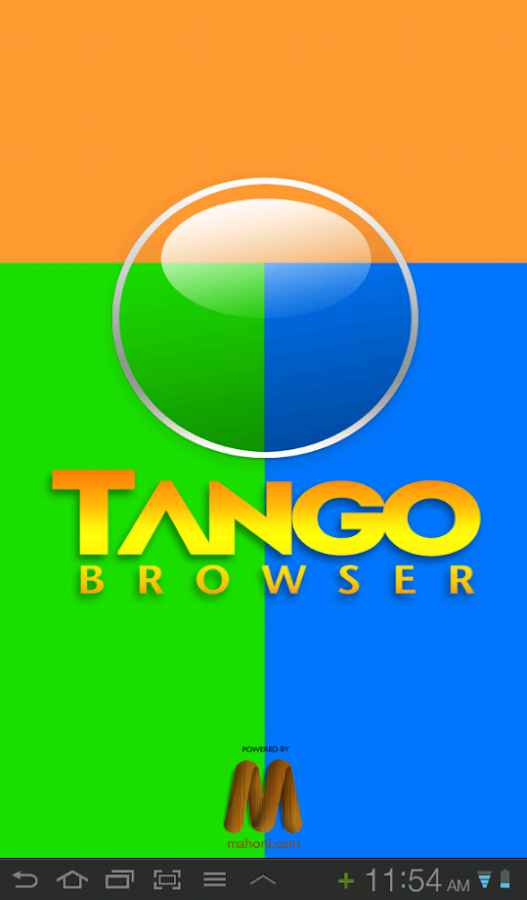 Tango Browser- screenshot