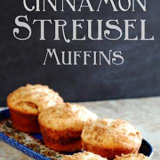 Easy Cinnamon Streusel Muffins