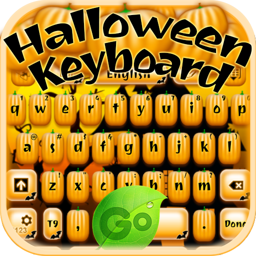 娱乐のハロウィーンのキーボード LOGO-記事Game