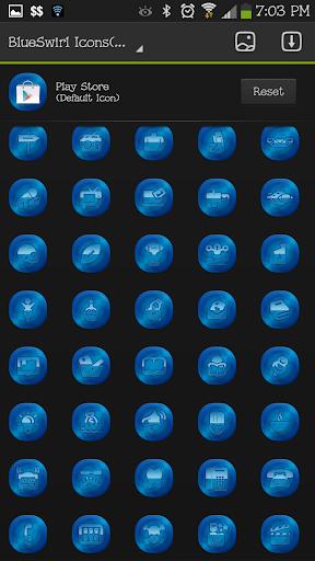ICON SET BlueSwirl