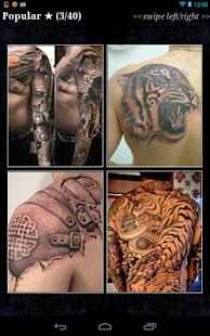 Tattoos for Men Pro