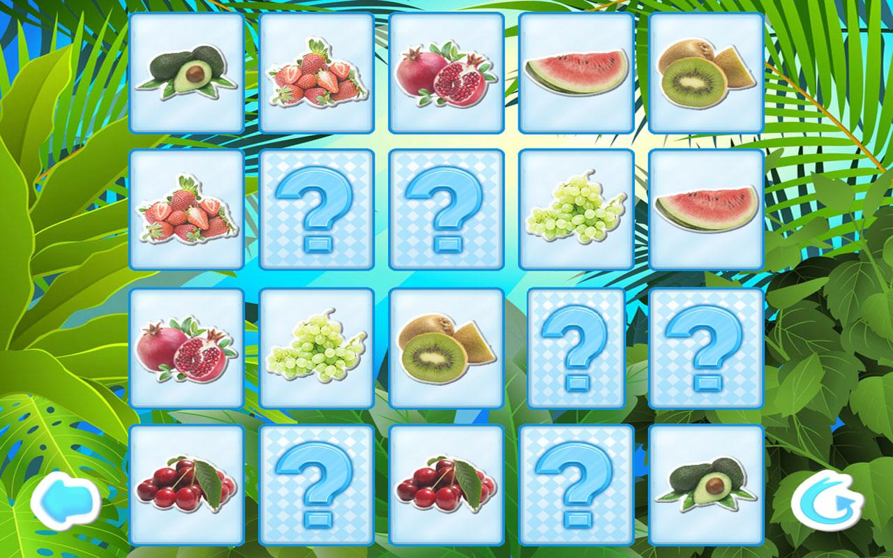 Fruits Memory for Kids Free - screenshot