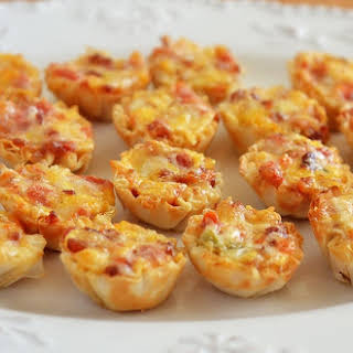 Cheesy Bacon Rotel Cups.