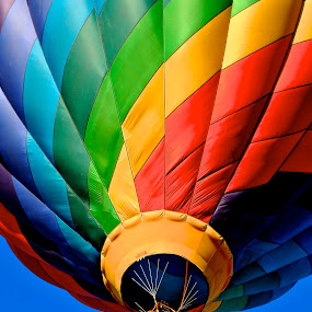 Up Here!! by Roy Walter - Transportation Other ( flight, hot air balloon, colorful, transportation, balloon )