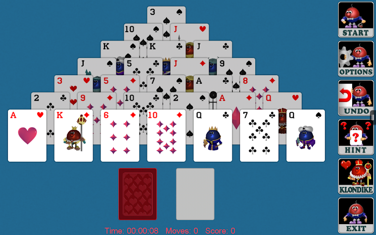 Pyramid Solitaire (Full) Screenshot
