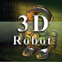 3d Robot . icon