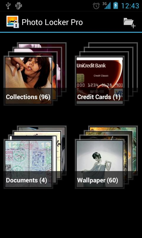 Hide Pictures in Photo Locker - screenshot