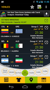 Football Schedule Brazil 2014 - screenshot thumbnail