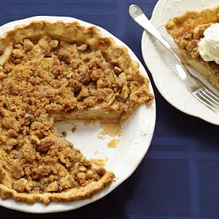 Scrumptious Dutch Apple Pie.