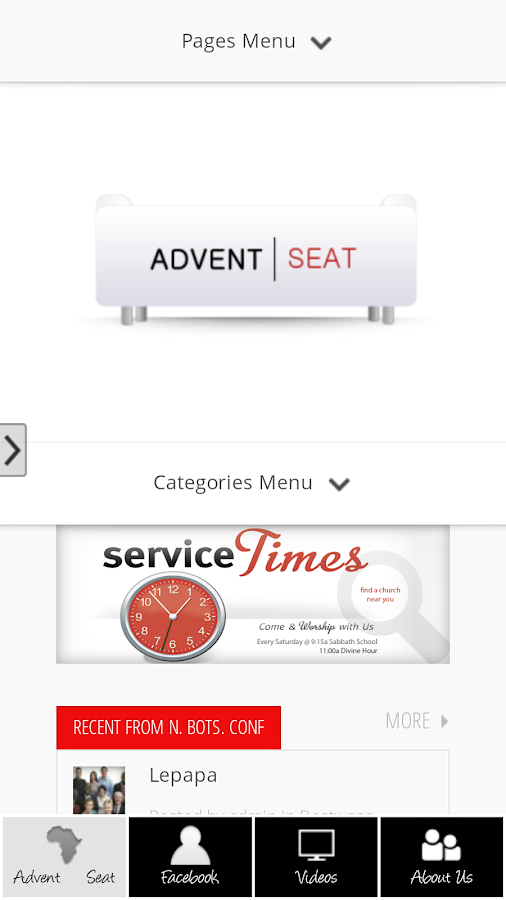 Advent|Seat - SDA Directory- screenshot