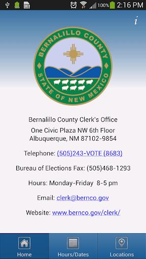 My Vote Center App