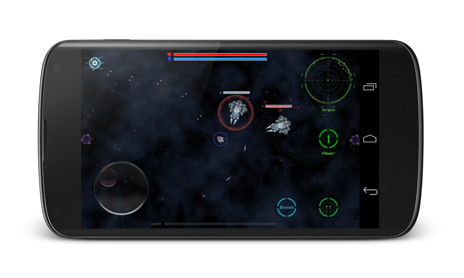 Space corsair- screenshot