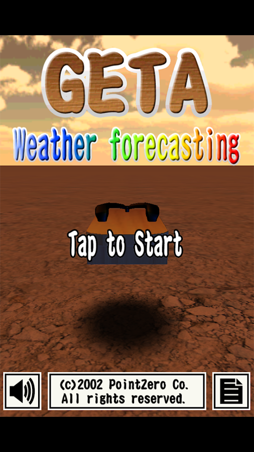 GETA Weather Forecasting- screenshot