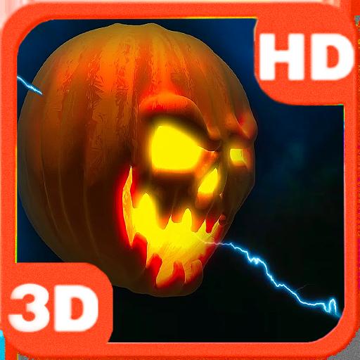 Lightning Halloween Pumpkin 3D 個人化 App LOGO-APP試玩