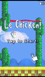 Le Chicken - Tap Game- screenshot thumbnail