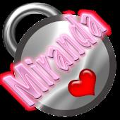 Miranda Name Tag