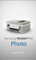 Screenshot of Samsung Mobile Print Photo