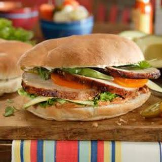 Pork Tortas (Sandwiches).