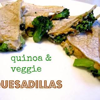 Quinoa And Veggie Quesadillas.