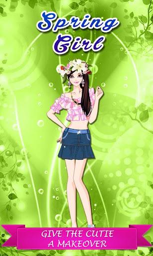 Little Spring Girl - Dress Up