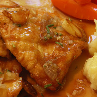 Chicken Scaloppine Romagna-Style.